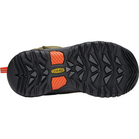 Keen Levo WP Lapset kengät , ruskea/oliivi